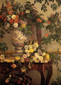 Frederic Bazille - Kwiaty