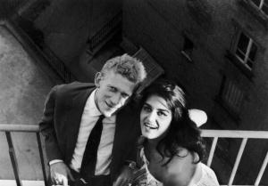 Dalida i Lucien Morisse około 1961