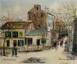 Obraz autorstwa Maurice'a Utrillo