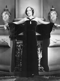 Gloria Swanson na planie filmu w kreacji Coco Chanel 1931