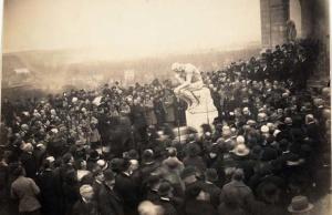 Pochówek Rodina 1917 rok