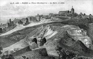 Przez setki lat na wzgórzu funkcjonowały kopalnie gipsu