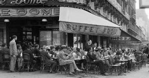 """""""Le Dome"""", Montparnasse, Paryż"""
