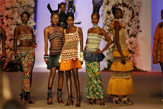 Afrykańska kolekcja Yves Saint Laurent'a z 1967 roku