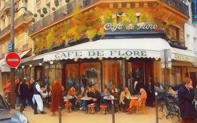 Kawiarnie artystycznego Paryża i ich dawni bywalcy