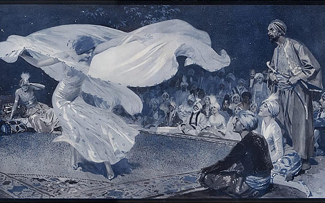 """""""1002 noc"""" wielkie przyjęcie Paula Poireta, które przeszło do historii"""