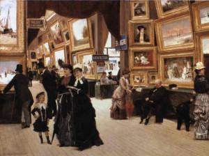 Edouard Dantan Un Coin du Salon en 1880