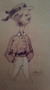 Mężczyzna w słomkowym kapeluszu