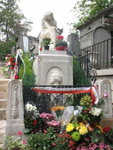 Grób Chopina na Père Lachaise