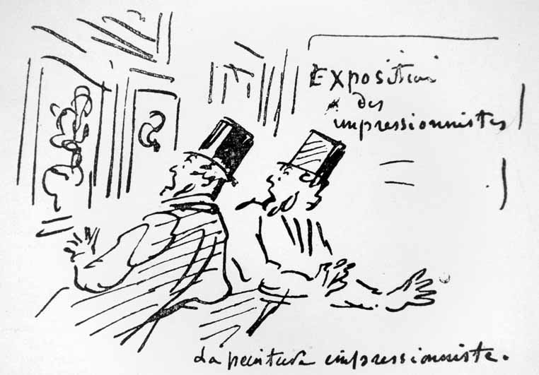"""Artykuł """"Wystawa impresjonistów"""". Louis Leroy"""