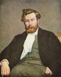 Portret Alfreda Sisleya - Auguste Renoir 1875 rok