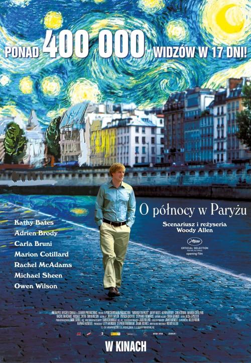 """""""O północy w Paryżu"""" Woody Allen"""