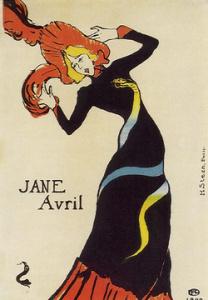 Jane Avril - Toulouse-Lautrec - 1899