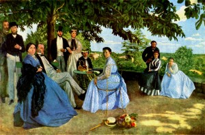 Frederic Bazille - Familly Reunion