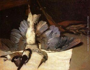 Martwa Natura z Czaplą - Alfred Sisley - 1867