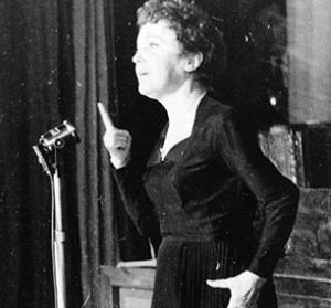 Edit Piaf na scenie