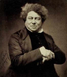 Alexander Dumas - 1855