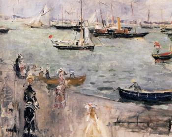 """""""Wyspa Wight"""" 1875 – Berthe Morisot"""