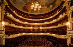 La salle Richelieu de la Comedie-Francaise