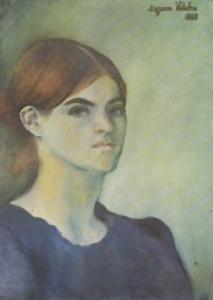 Suzanne Valadon - Autoprtret -1883 rok