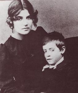 Suzane Valdon z synem Maurice Utrille