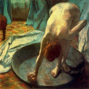 Suzanne Valadon na obrazie Edgara Degasa