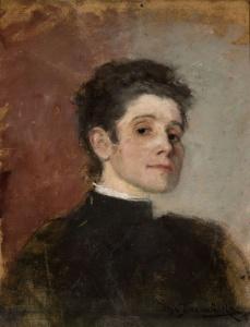 Olga Boznańska - Autoportret 1896 rok