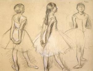 Szkic do rzeźby - Edgar Degas