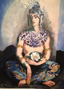 Kees van Dongen - Portret Cierplikowskiego w stroju Sary Lipskiej