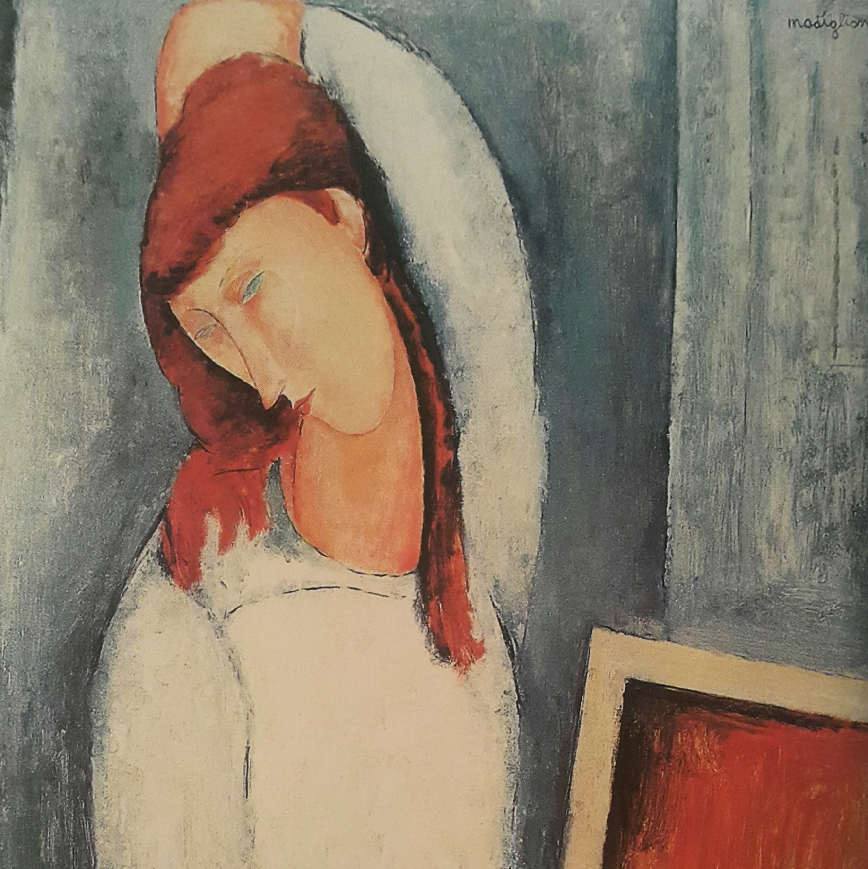 """Jeanne Hebuterne"" 1919 – Amedeo Modigliani"
