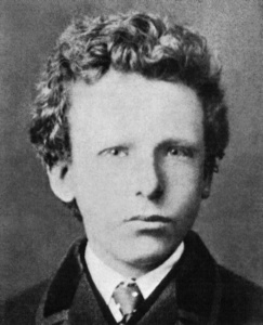 Vincent Van Gogh w wieku 13 lat, 1866