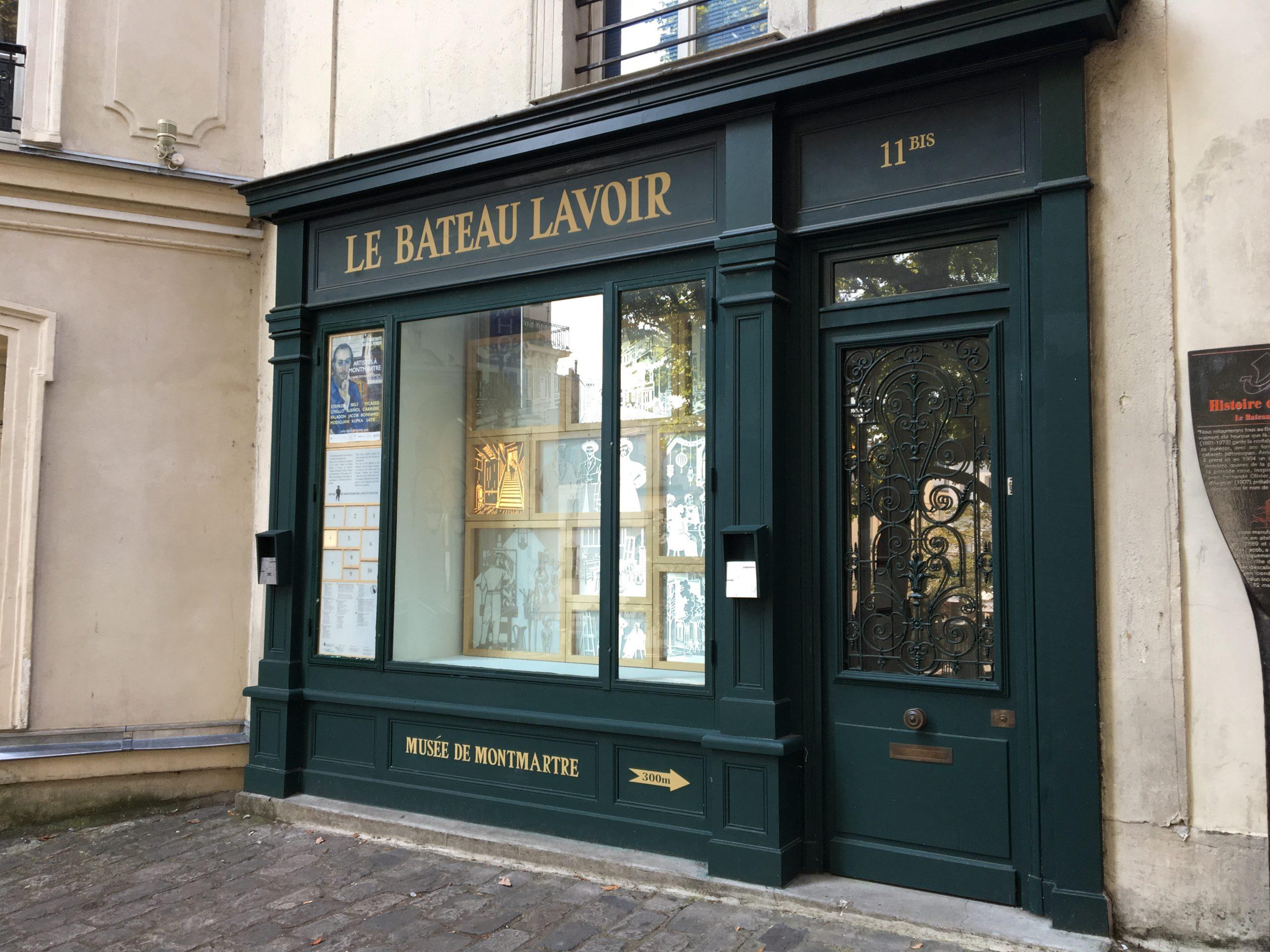 Le Bateau-Lavoir – artystyczna pralnia w sercu Montmartre