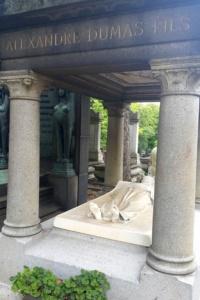 Grób Aleksandra Dumas - syna