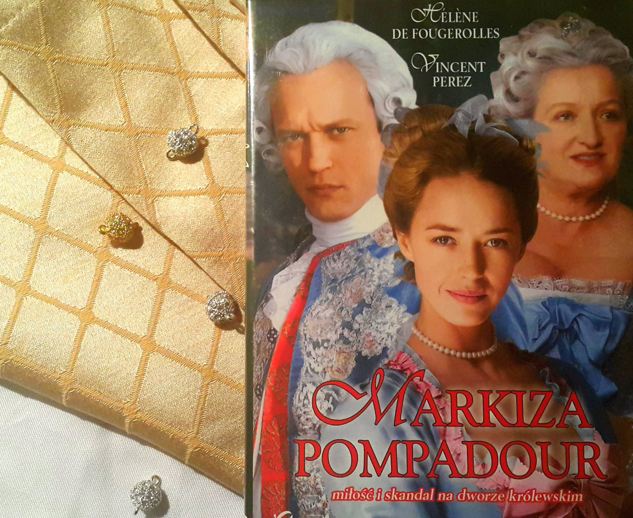 """Markiza Pompadour, królewska faworyta"" Robin Davis"