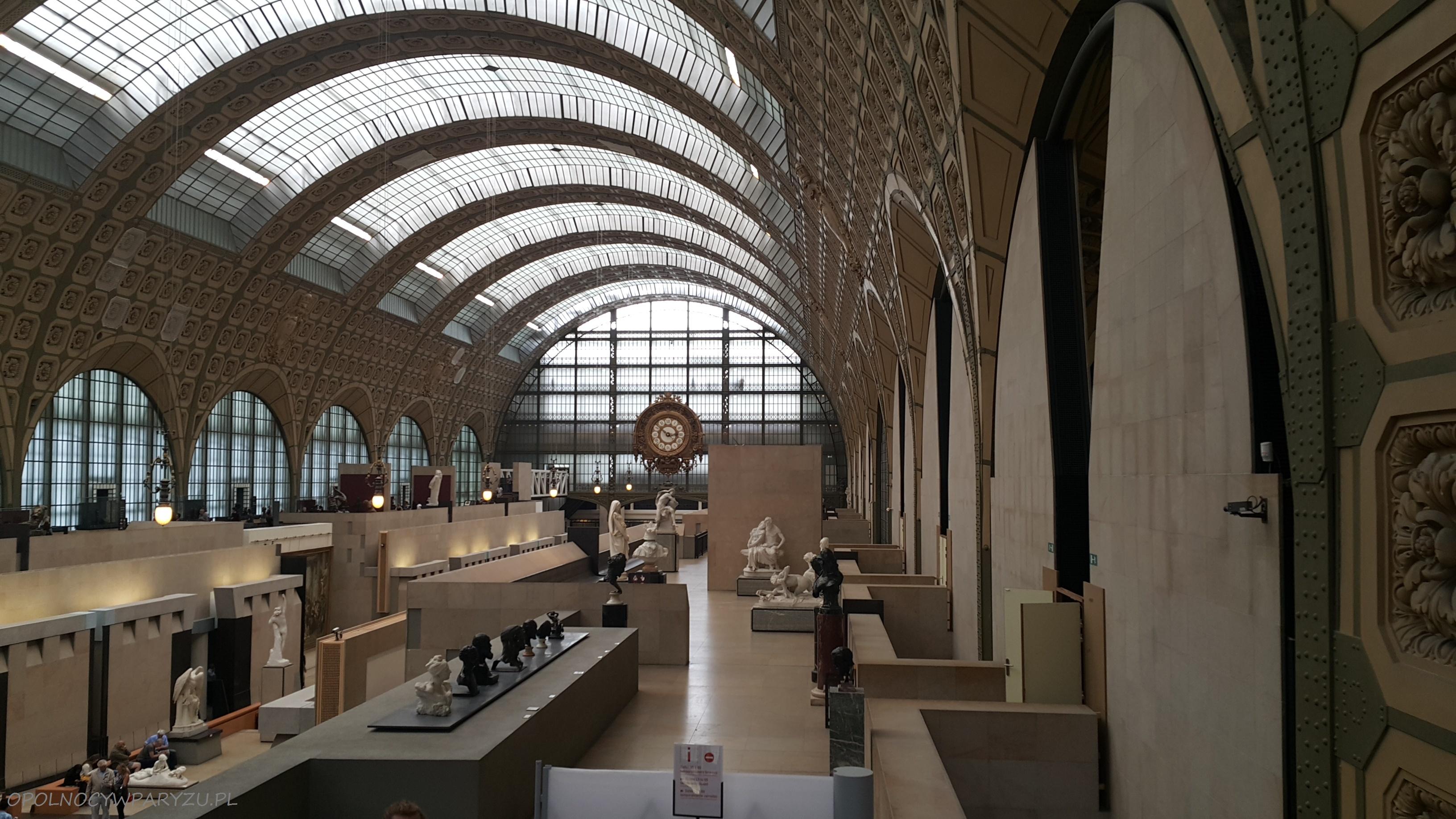 Muzeum w dworcu – d'Orsay