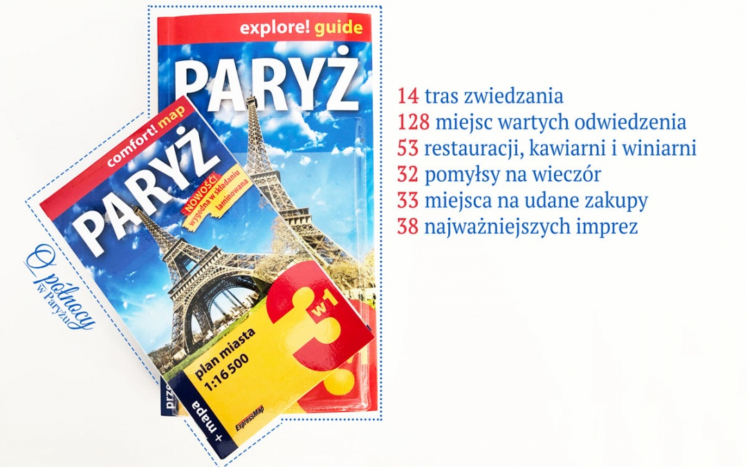 Paryż explore! guide – Przewodnik po Paryżu