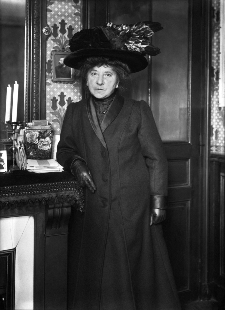 Prawa kobiet we Francji Hubertine_Auclert_1910