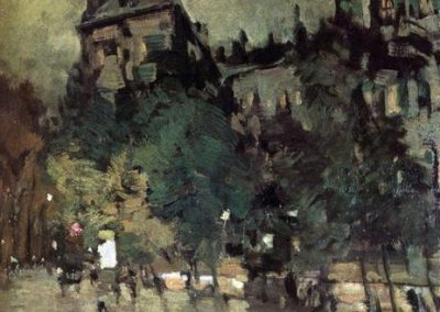 Konstanty Korovin Paris after rain 1900