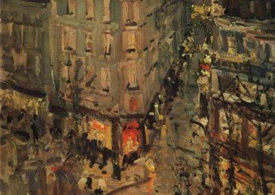 Konstanty Korovin Paris boulevard des capucines