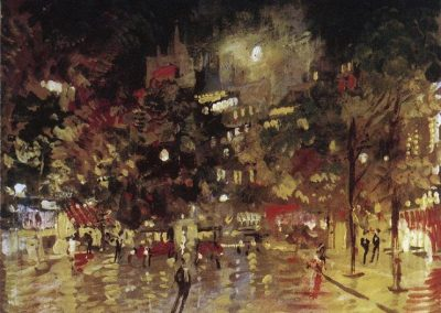 Konstanty Korovin Paris by night 1920