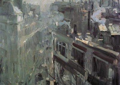 Konstanty Korowin Paris morning 1906