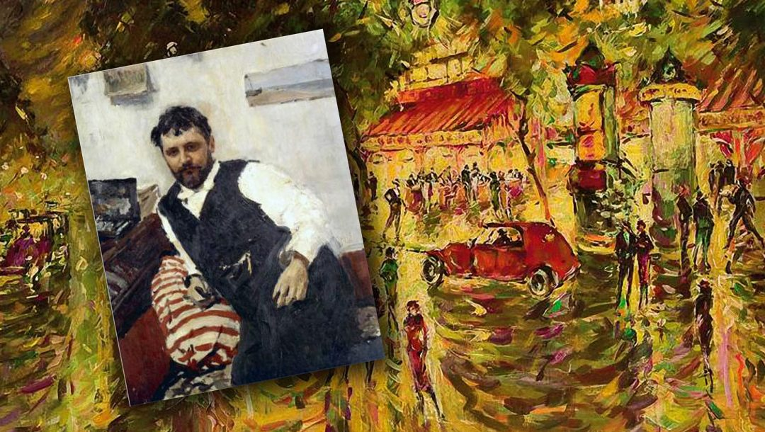 Konstanty korowin i Paryż na jego obrazach