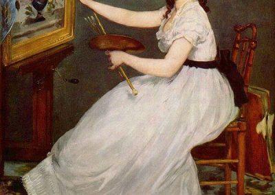 "Edouard Manet "" Eva Gonzales"" 1870"