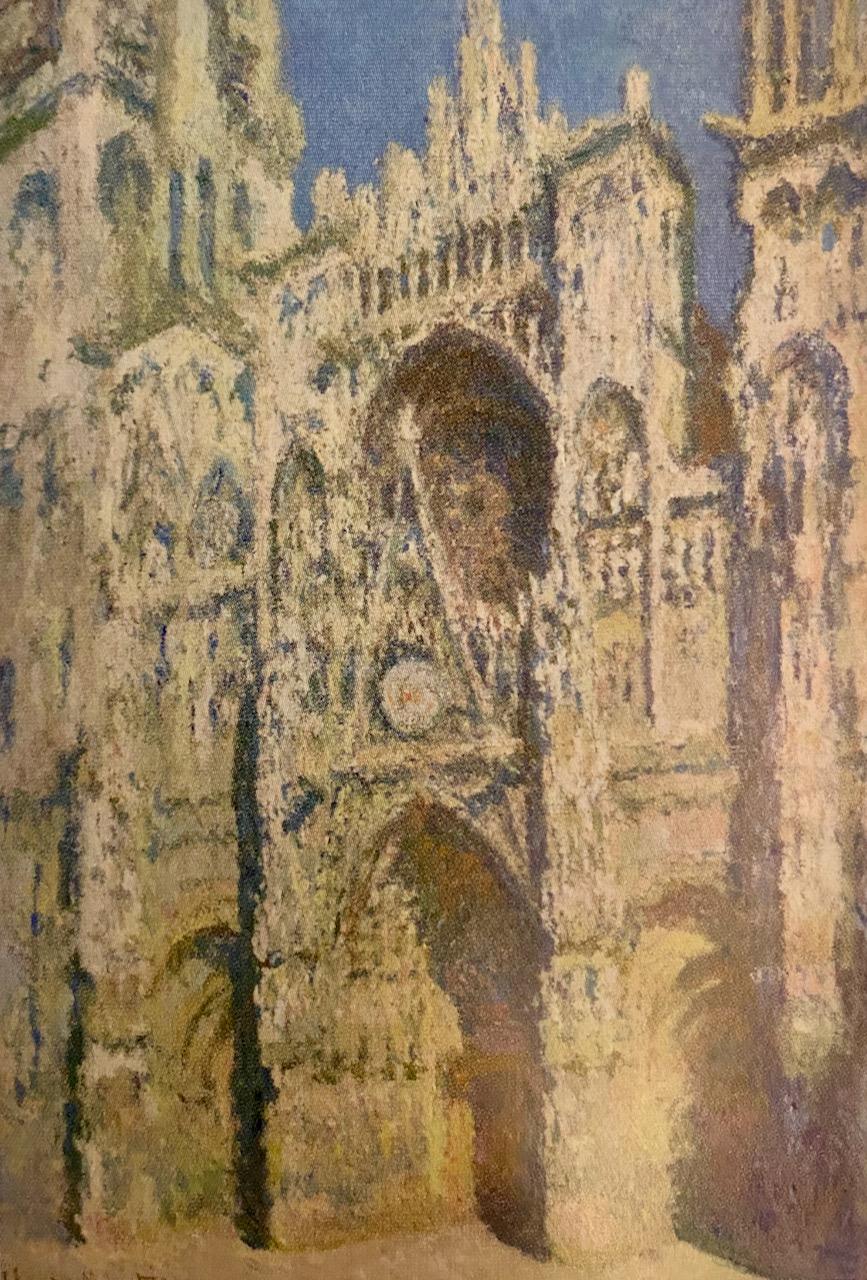 Katedra w Rouen Claude Monet