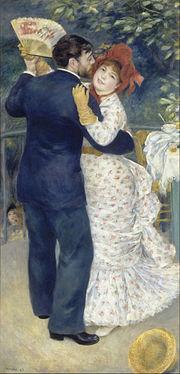 """Tańce na wsi"" 1883 Auguste Renoir"