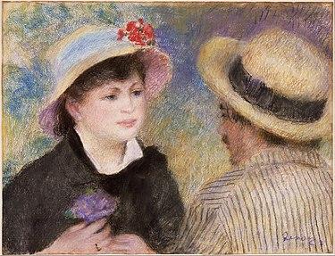 Aline Charigot et Renoir 1881