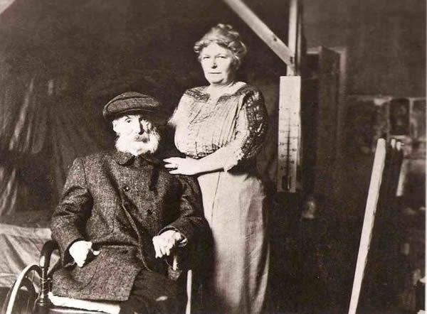 Aline ACharigot i Auguste Renoire
